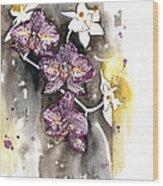 Orchid 13 Elena Yakubovich Wood Print