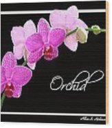 Orchid 2 2 Wood Print