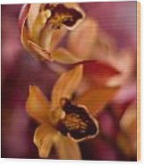 Orchid Dance Wood Print