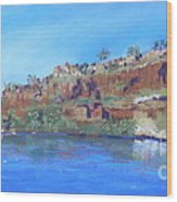 Ord River Afteroon Cruise Wood Print