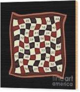Order Nine Magic Square Puzzle Wood Print