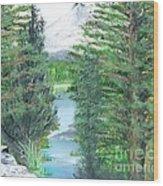 Oregon Reverie Wood Print