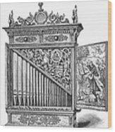 Organ Positive Wood Print