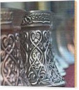 Oriental Coffee Pot Wood Print