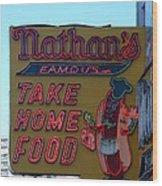 Original Nathan's Wood Print