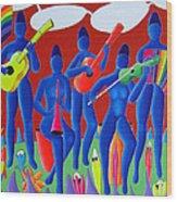 Orkestra Wood Print
