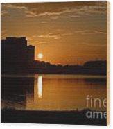 Orlando Sunrise Wood Print