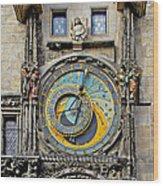 Orloj - Prague Astronomical Clock Wood Print