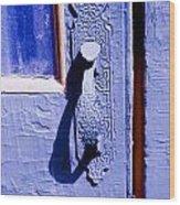 Ornate Door Handle Wood Print