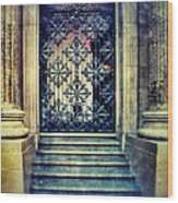 Ornate Entrance Gate Wood Print