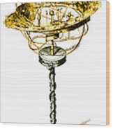 Orrery Illustration Wood Print by Science Source