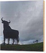 Osborne Bull A Spanish Landmark Wood Print