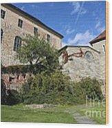 Oslo Castle - Akershus Wood Print