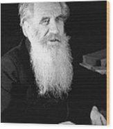 Otto Schmidt, Soviet Geophysicist Wood Print