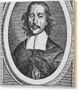 Otto Von Guericke (1602-1686) Wood Print