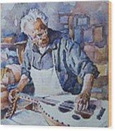 Oud Maker Wood Print