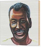 Oumar Souleymane Cisse Wood Print