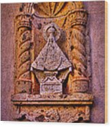 Our Lady Of Good Success At The Chapel In Tlaquepaque Wood Print