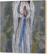 Our Lady Of Lourdes 2 Wood Print
