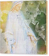 Our Lady Of Nature Wood Print