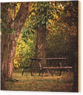 Our Special Place Wood Print