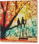 Our Spot Wood Print