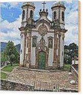 Ouro Preto Church Wood Print