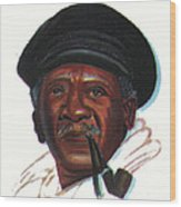 Ousmane Sembene Wood Print