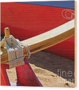 Outrigger Rigging - 2 Wood Print
