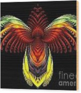Outstreched Wings Wood Print
