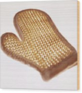 Oven Glove Wood Print