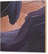 Overhang Wood Print