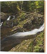 Overlook Falls 1 Wood Print