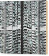 Overpopulation 2 Wood Print