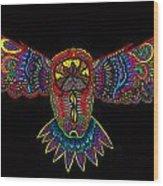 Owl 1 Wood Print