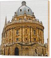 Oxford University Wood Print