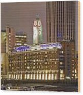 Oxo Tower Night   Wood Print