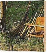 Oxymoron Wood Print by Rotaunja