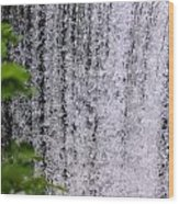 Ozark Waterfall Wood Print