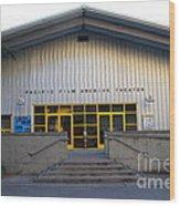 Pacific Film Archive Theater . Uc Berkeley . 7d10199 Wood Print
