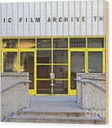 Pacific Film Archive Theater . Uc Berkeley . 7d10200 Wood Print