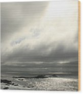 Pacific Ocean At Point Lobos California Wood Print