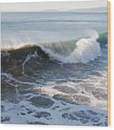 Pacific Ocen Wood Print