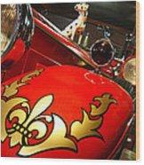Packard Fire Engine  Wood Print