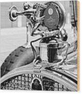 Packard Girl Wood Print
