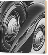 Packard One Twenty Wood Print