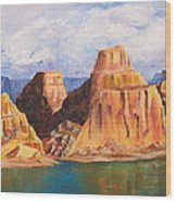 Padre Bay Lake Powell Wood Print