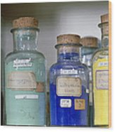 Paint Pigment Samples Used In Forgery Detection Wood Print