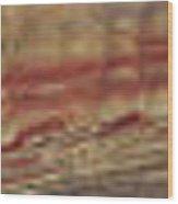 Painted Hills Panoramic Wood Print