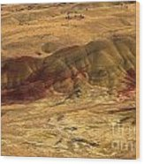 Painted Ridge Wood Print
